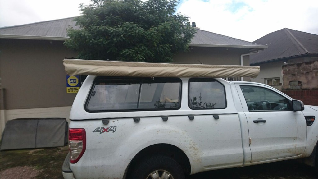 vehicle awning
