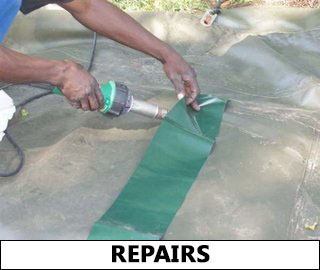 canvas and pvc repairs